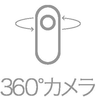 カメラレンタル【シェアカメ】 360°カメラ